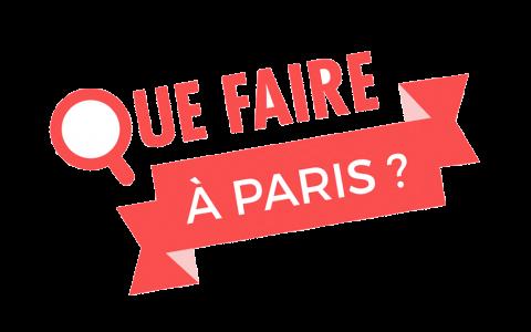 Que faire à Paris ? logo png