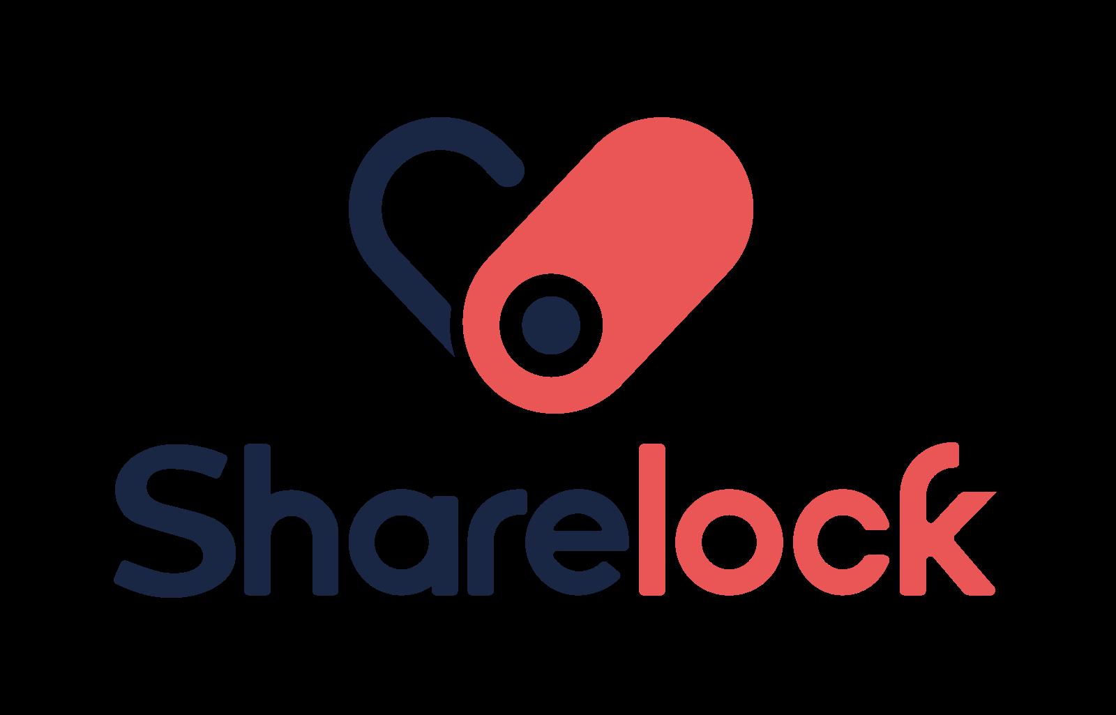 Share lock logo png