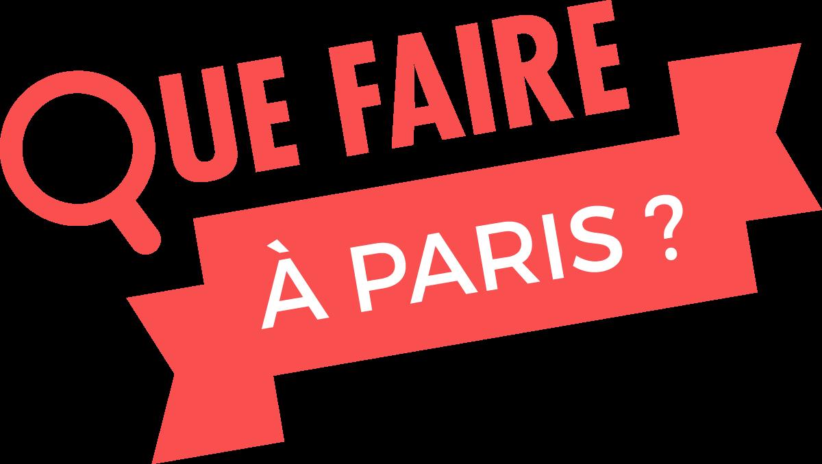 Que faire à Paris ? logo